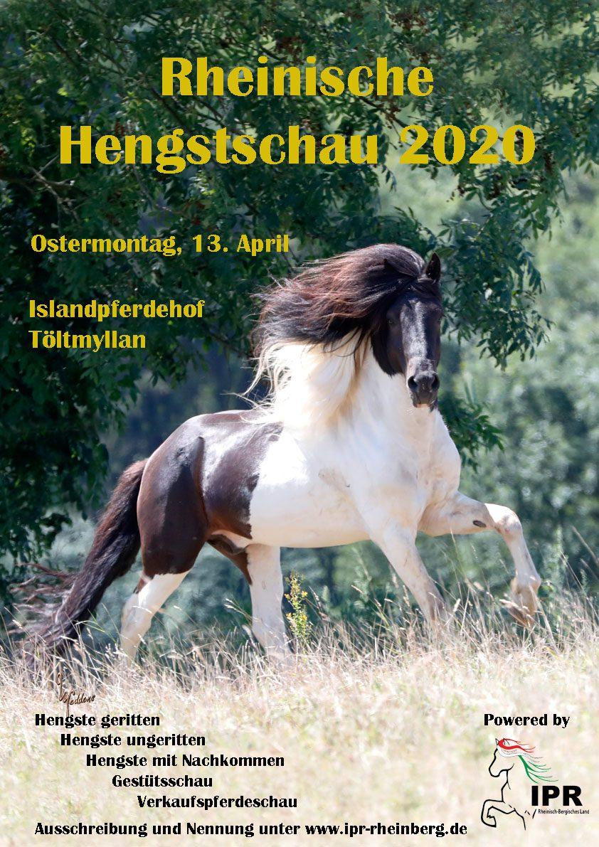 Poster Hengstschau 2020